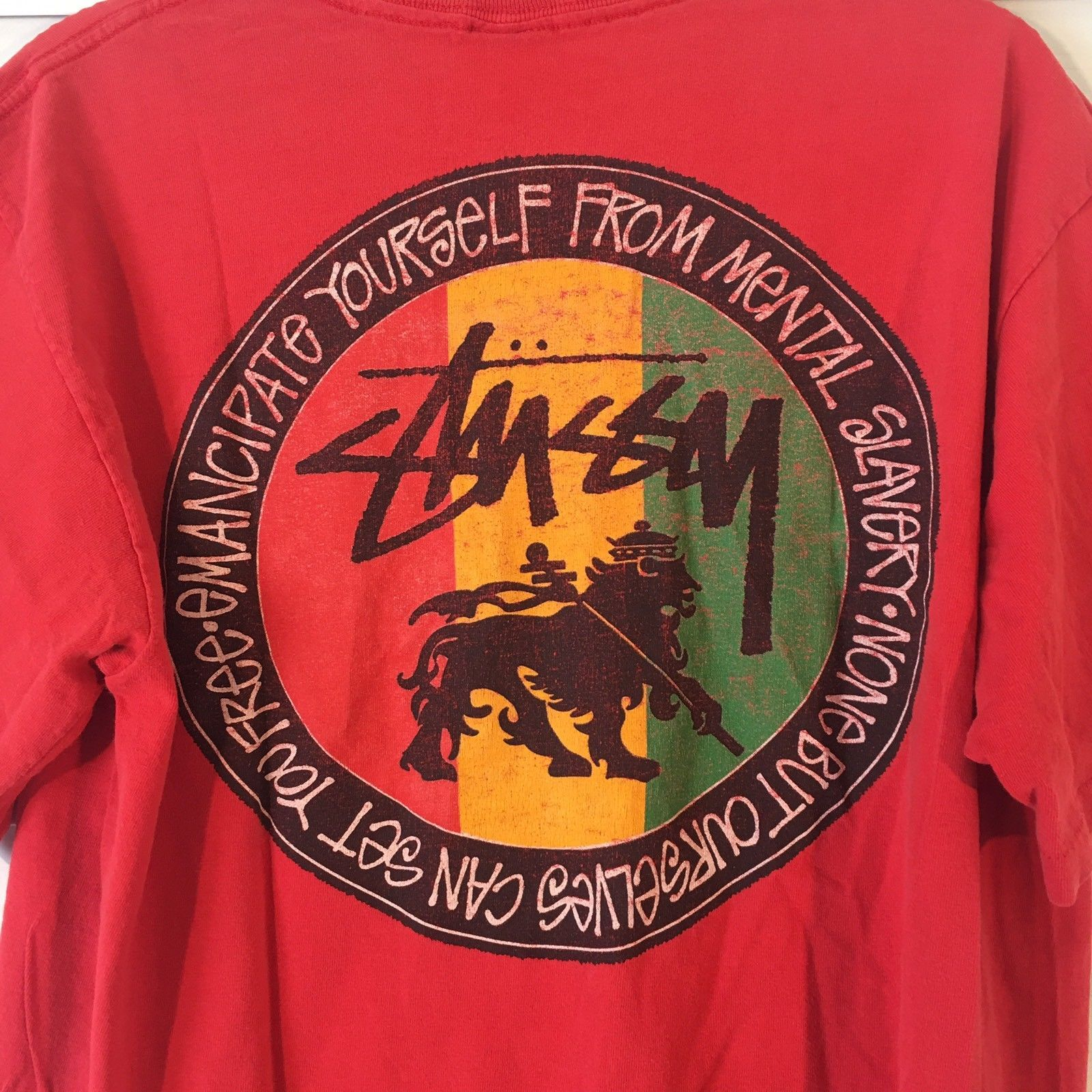 Vintage 90s STUSSY Feelin Irie Men s T Shirt and 18 similar items