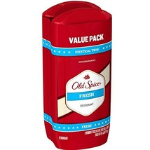 Old Spice Deodorant 3 Ounce Fresh Solid Two At Once (88ml) (2 Pack) - $8.86
