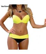 Bikini Set 2016 Summer Low Waist Swimwear Women Sexy Bench Swimsuit - $24.95