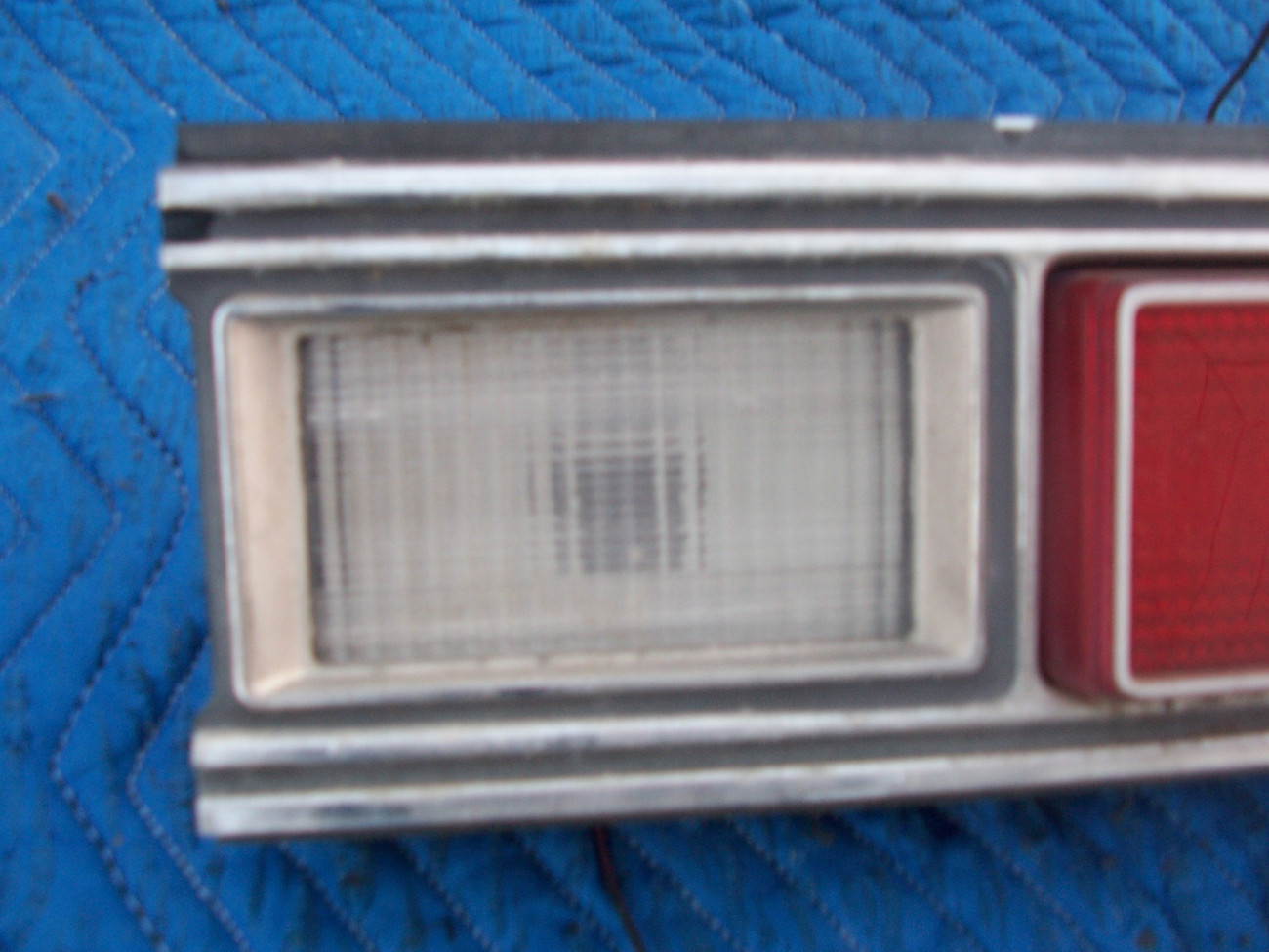 1973 MARQUIS 2 DOOR BROUGHAM RIGHT TAILLIGHT OEM USED ORIGINAL MERCURY FORD PART image 3