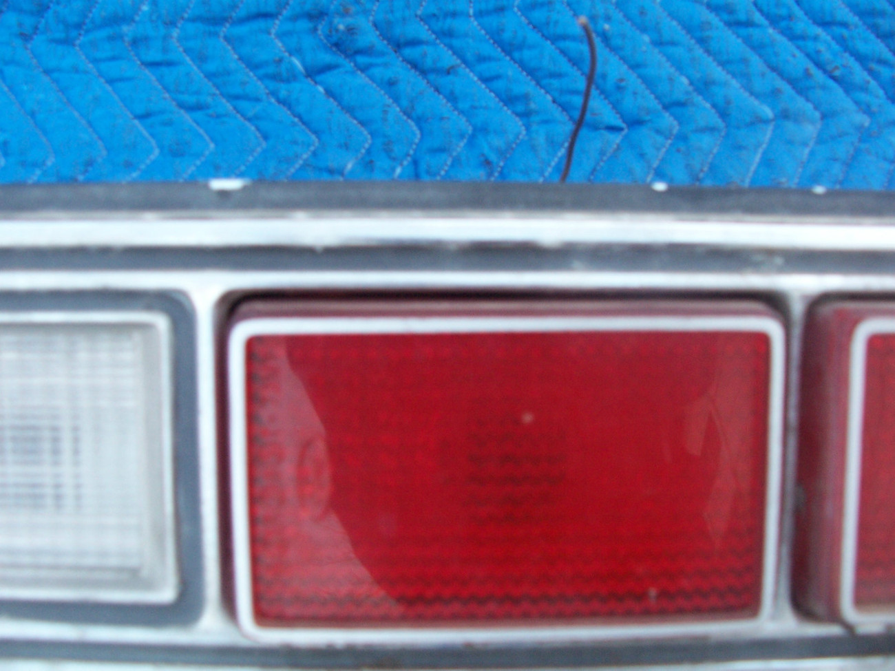 1973 MARQUIS 2 DOOR BROUGHAM RIGHT TAILLIGHT OEM USED ORIGINAL MERCURY FORD PART image 5