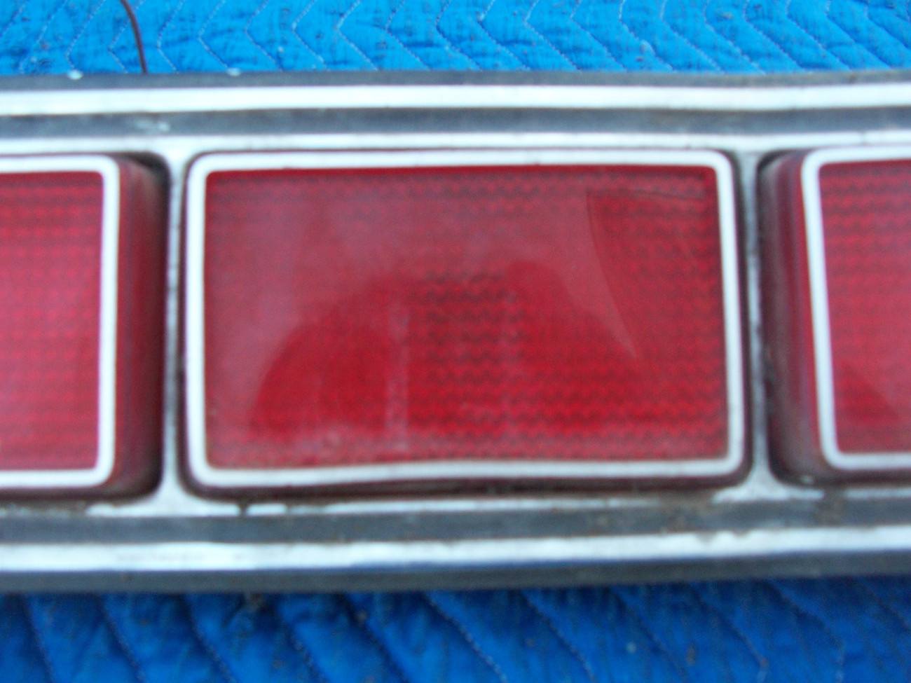 1973 MARQUIS 2 DOOR BROUGHAM RIGHT TAILLIGHT OEM USED ORIGINAL MERCURY FORD PART image 6