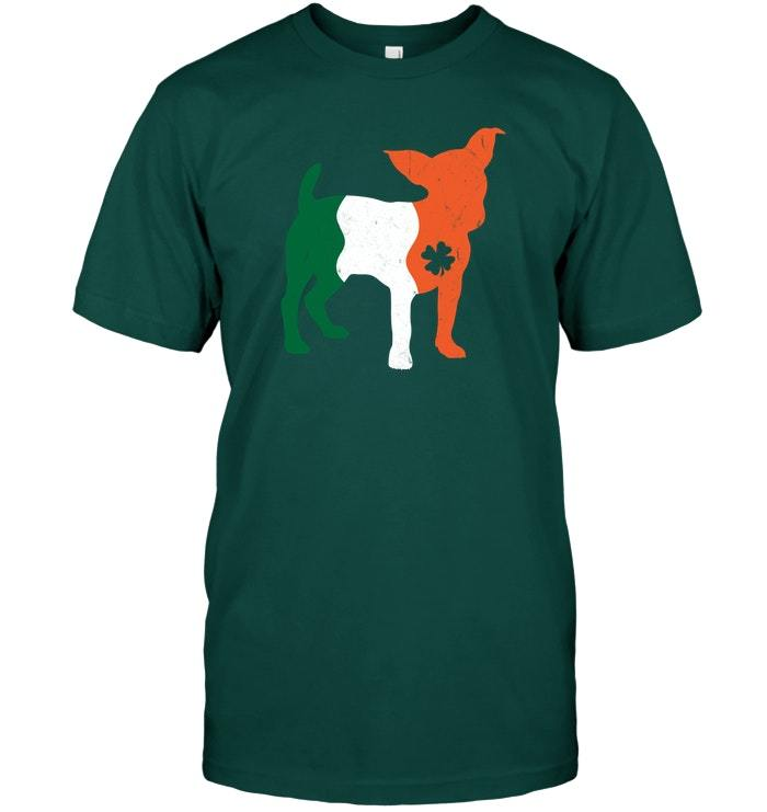 Saint Patricks Day Jack Russell Terrier Dog Vintage Shirt