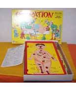 Vintage 1965 Smoking Doctor Operation Board Game  Like New - $15.00