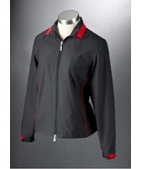 NWT Women's Callaway Golf ZOE Black Zip Jacket ... - $32.39