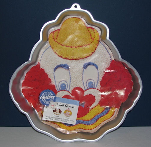 Primary image for Wilton 1989 Happy Clown Face Pan 2105-802 with Insert