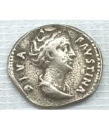 ANCIENT ROME FAUSTINA SENIOR 138-140 AD DENARIUS DIVA FAVSTINA S-4581 - $755,555.00