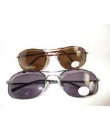 Mens Aviator Bifocal Reading/ Sunglasses 1.50 Gun Metal - $17.99