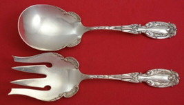 "Josephine by Frank Whiting Sterling Silver Salad Serving Set 2pc AS 8 7/8"" - $385.11"