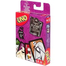 UNO The NIghtmare Before Christmas Edition