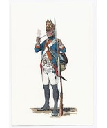 1966 Postcard K/S Historical Publications Military Uniforms - Fusilier R... - $4.99