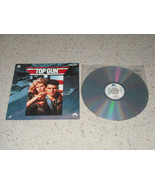 Top Gun Extended Play LaserDisc Paramount Tom Cruise - $9.99