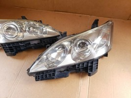 07-09 Lexus ES350 HALOGEN Headlights lamps Set L&R image 2