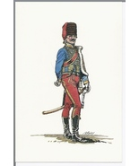 1968 Postcard K/S Historical Publications Military Uniforms – Hussar Off... - $4.99