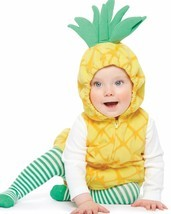 NEW NWT Carters Girls Pineapple Halloween Costume Size 18 Months  - €32,84 EUR