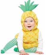 NEW NWT Carters Girls Pineapple Halloween Costume Size 18 Months  - ₹2,581.18 INR