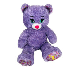 Build A Bear Frozen Princess Anna Purple Sparkle Disney Plush Toy Stuffe... - $19.65