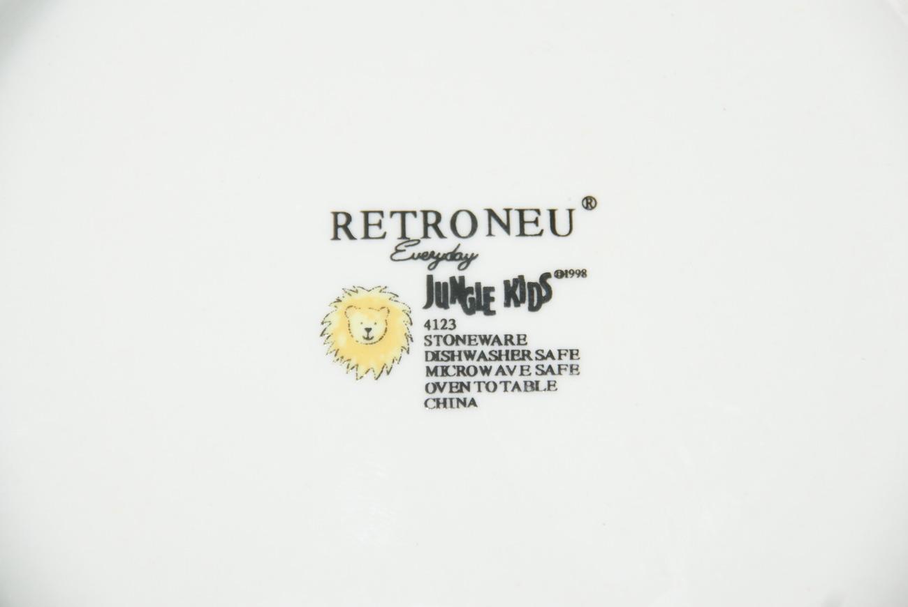 RETRONEU - JUNGLE KIDS EVERYDAY PLATE