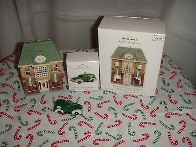 Hallmark Nostalgic House And Shop 12 Mama's Ristorante Italiano & Delivery Van   - $24.99