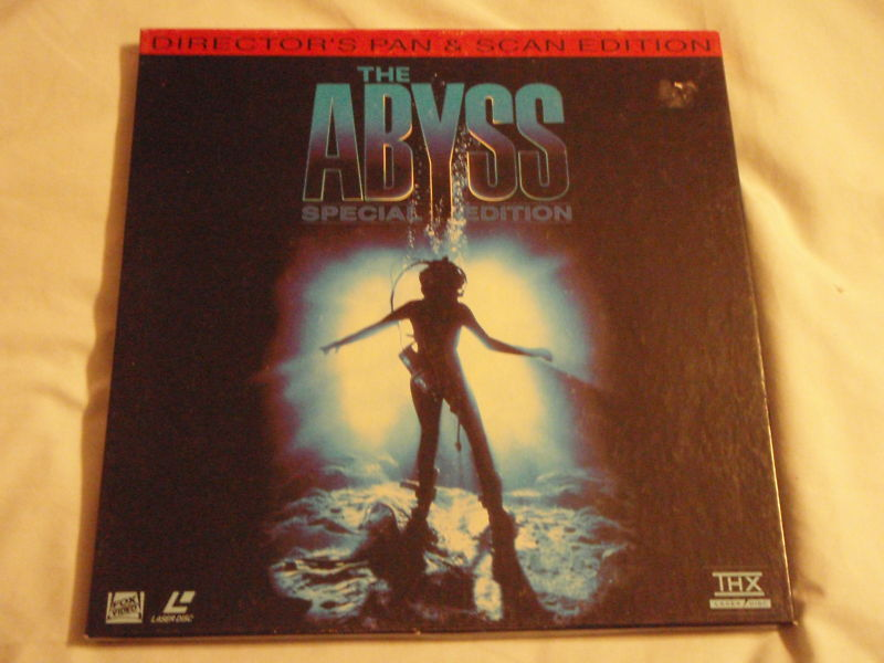 The ABYSS Special Edition Box Set Rare Pan & Scan Laserdisc