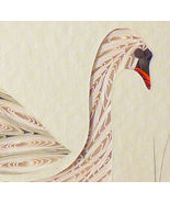 Tiny Quilled Swan - $175.00