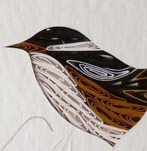 Tiny Quilled Marsh Wren - $55.00