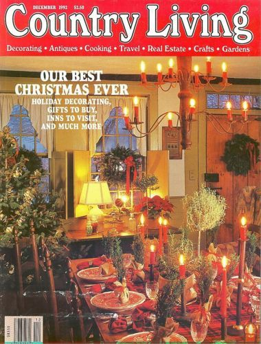 COUNTRY LIVING-1992 DECEMBER-OUR BEST CHRISTMAS EVER-GIFTS,INNS,DECORATING,COOK