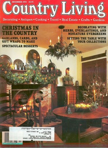 COUNTRY LIVING-1994 DECEMBER-CHRISTMAS IN THE COUNTRY;GARLANDS,CARDS,WRAPS,HERBS