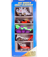 Hot Wheels 1996 Crazy Classics Gift  5 Pack - $10.00