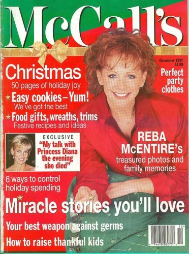 McCALL'S-1997-DECEMBER-MIRACLE STORIES;50 PAGES OF HOLIDAY JOY;PRINCESS DIANA