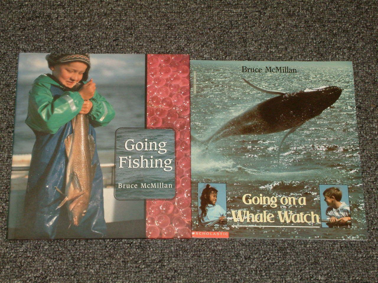 Going Fishing and Going on a Whale Watch by Bruce McMillan