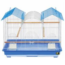 Prevue Hendryx Parakeet Triple Roof Flight Cage 961-PP-1804TR - $92.16