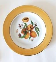 """Email De Limoges~Fruit ~7.5"""" Decorative Porcelain Plate~ Peaches ~Aprico... - $12.82"""
