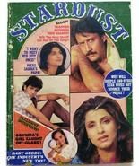 Stardust July 1986 Jackie Sarika Dimple Kapadia Govinda Salma Neelam Khu... - $49.99