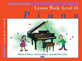 Alfred's Basic Piano Library Lesson Book, Bk 1A [Paperback] Willard Palm... - $6.99