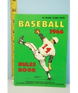 NFHS 1966 Baseball Rules & Handbook National Alliance Ed. High School Co... - $9.99