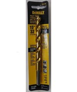 "Dewalt DW1395 15/32"" Pilot Point Titanium Drill Bit - $3.47"