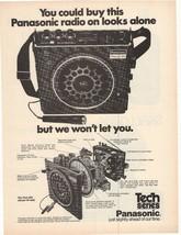 1975 Panasonic Tech Series Radio Advertisement - $16.00