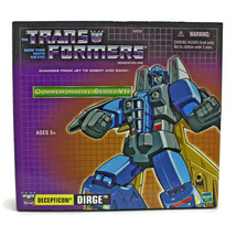 Transformers G1 | DIRGE | Commemorative Series 7 VII | DECEPTICON | Hasbro 2003 image 2