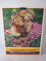 Kodacolor Rose Art 550 Piece PUZZLE Strawberry Bears Sealed 1991 99999 - $9.90