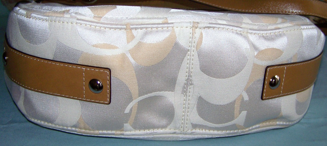 COACH OPTIC SIGNATURE CONVERTIBLE LRG ZOE NWT 14710