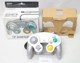 Nintendo Gamecube Controller Silber DOL-003 Arbeit Joypad Verpackt 1810-10 - $50.92