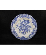 Vintage Bristol Blue Mulberry Crown Ducal English Butter Plate - $9.41