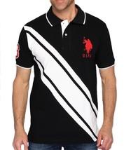 Us Polo Assn Men's Premium Athletic Classic Cotton Golf Shirt T-Shirt Black