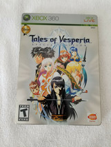 Tales of Vesperia - Special Steelbook Edition - CIB w/ Manual - Xbox 360... - $47.95