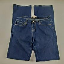 Forever 21 Womens Jeans Sz 26 Boot Cut Mid Rise Dark Wash Denim - $21.77