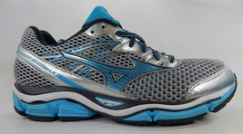 Mizuno Wave Enigma 5 Size US 9 M (B) EU 40 Women's Running Shoes Blue Silver
