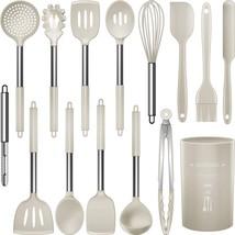 Silicone Cooking Utensils Set - Heat Resistant Kitchen Utensils,Turner T... - $30.99