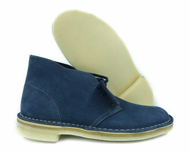 Clarks Originals Desert Boots Men's Navy Blue Nubuck 26163687 - €92,23 EUR