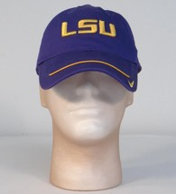 Nike LSU Tigers Purple & Gold Baseball Cap Hat Adjustable Adult One Size NWT - $25.24